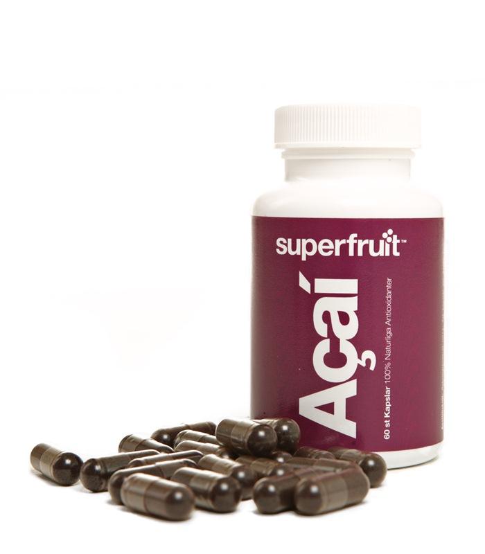 acai kapslar Allt om superfrukter