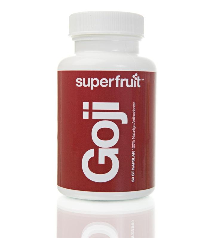 goji kapsel  Allt om superfrukter